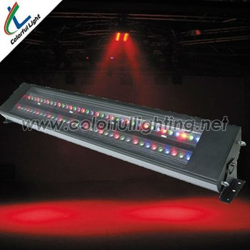 Tricolor 72*3W RGB Led Wall Washer Light