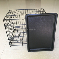 Dog Life Dog Crate Single Door Black Small cage