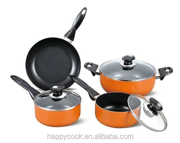 ALUMINUM NON-STICK PAN FRYING COOKWARE SET