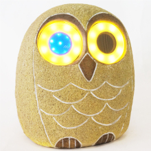 Owl exterior garden wireless led light bluetooth speaker