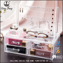 Customized Acrylic Plastic Home Jewelry/Makeup Pp Storage Box Decorative