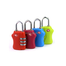 Colorful Travel suitcase luggage digital combination lock
