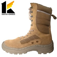 warrior battle fighting with side zipper fast response desert army boots shock proof