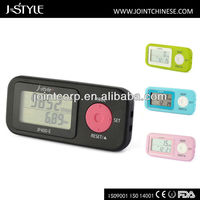 J-style 3D multifunctional pedometer measure distance walking