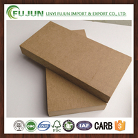 mdf raw board/plain mdf wood board/18mm thick mdf board