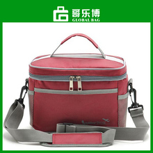 Thermal Cooler Waterproof Insulated Portable Tote Picnic Storage Lunch Bag Red