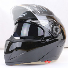 Safe Flip Up Full face racing Motorcycle Helmet With Inner Sun Visor for men and Women