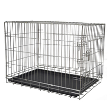 Cheap double decorate iron designer crates dog cage foldable