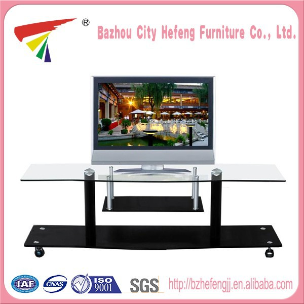 Wholesale High Quality glass waterproof outdoor tv stand