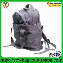2016 Fashion Outdoor Canvas Style Casual Backpack School Bag