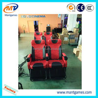 China 5d cinema/5d theater,arcade electric 5d cinema equipment,mobile 5d motion cinema