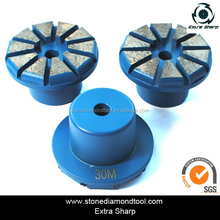 Concrete grinding pucks/ Concrete Diamond Beveled grinding plug