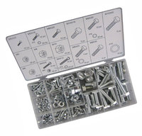 hex head nut bolt fastener 240pc hardware kit hex head nut bolt fastener