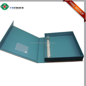 Custom made premium binders with inserts holder for consultants