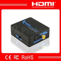 Compact Coaxial to Toslink Audio Converter 2 Way Conversion Digital Audio Converter