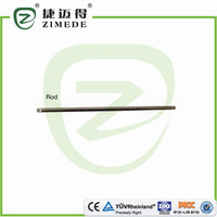 Orthopedic implants spine fixation system spinal rod