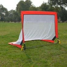 hot selling Fiber glass pole square training soccer goal