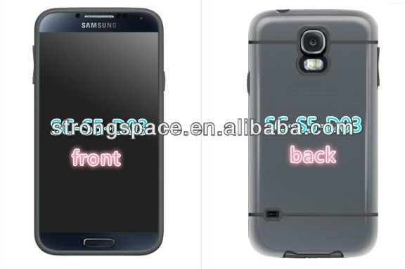 newest popular hybrid frost case for samsung galaxy S5