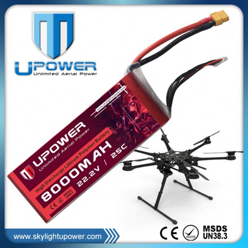 high voltage 14.8V battery for fukuda for electric RC flight drone