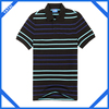 2014 fashion stripe dry fit custom polo shirts for women