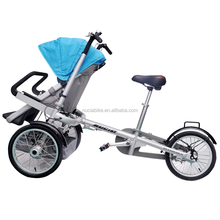 6061aluminium alloy cheap baby stroller bike 3 in1 for mother and baby