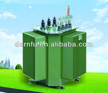 Dimensional triangular energy-saving power transformers DRF- S13-M.RL