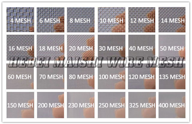 thick stainless steel wire mesh