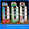 Promotion floor stand metal display rack for candy shops