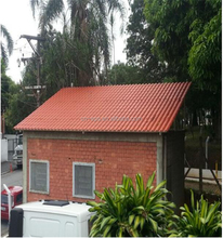 resin solar roof tiles for booth ASA+PVC waterproofing material