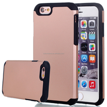 Sniper hybrid PC 2 in 1 armor mobile phone cover case for iphone 6 ,for iphone 6 armor protect cover case