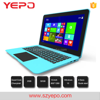Quad Core Cheap Chinese Laptops 10.2 inch Notebook PC 2GB 32GB Cheap Mini Nettop PC