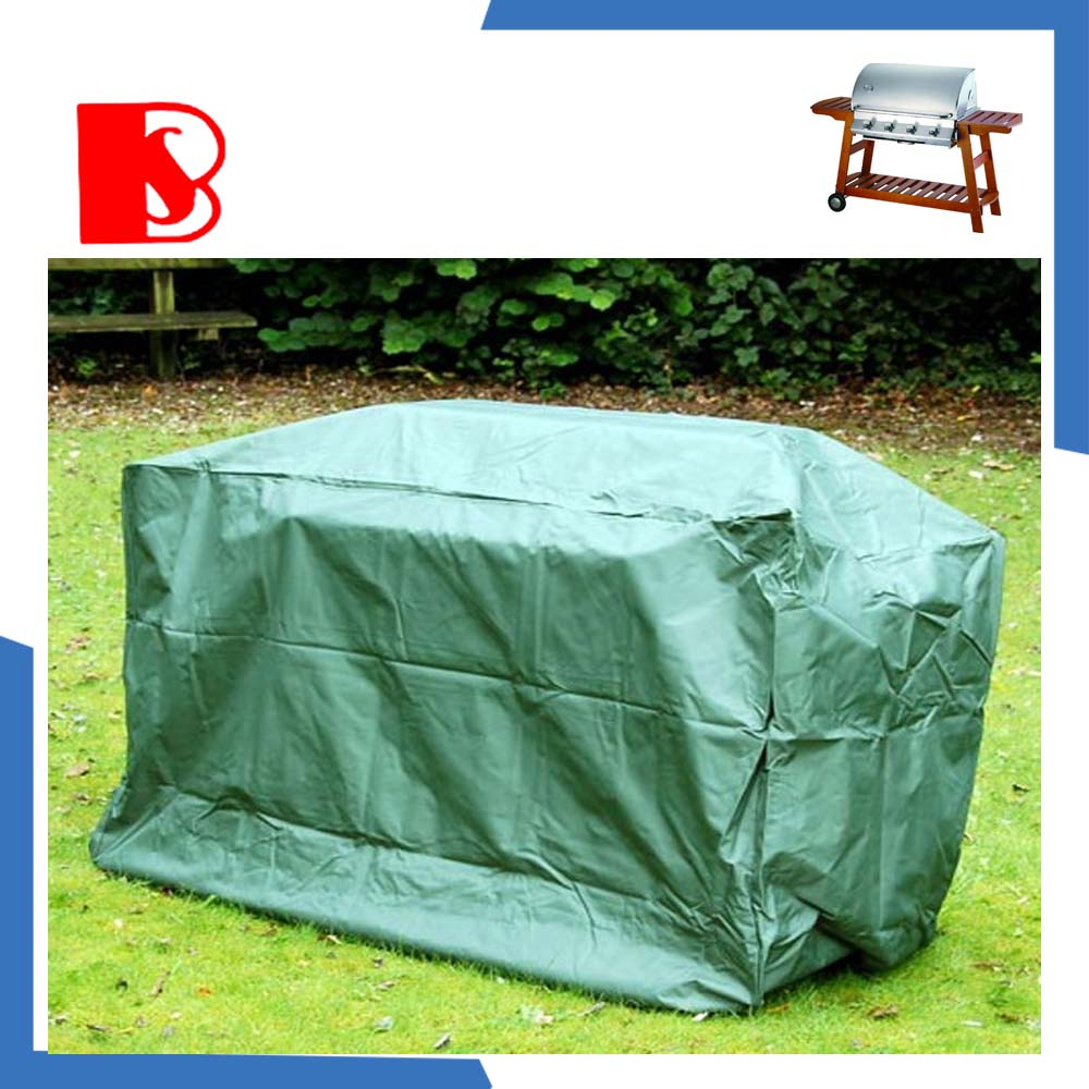 barbecu grill cover, waterproof outdoor funiture cover, plastic grill cover