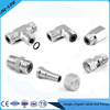Rubber sealing stainless steel pipe fittings