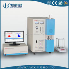 Coal sulfur analyzer for stainless steel