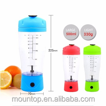 factory wholesale electric shaker protein bottle battery smoothie blender
