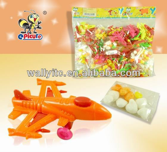 Novelty Small Plane Toy candy