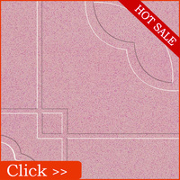Pink Ceramic Tile Flooring 30x30CM Terrace tile flooring