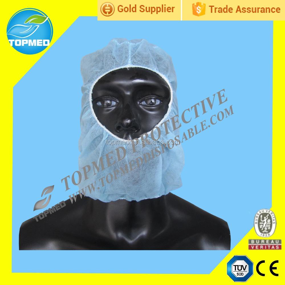 Disposable head cover for industrial, surgical nonwoven head cover, medical protective head cover