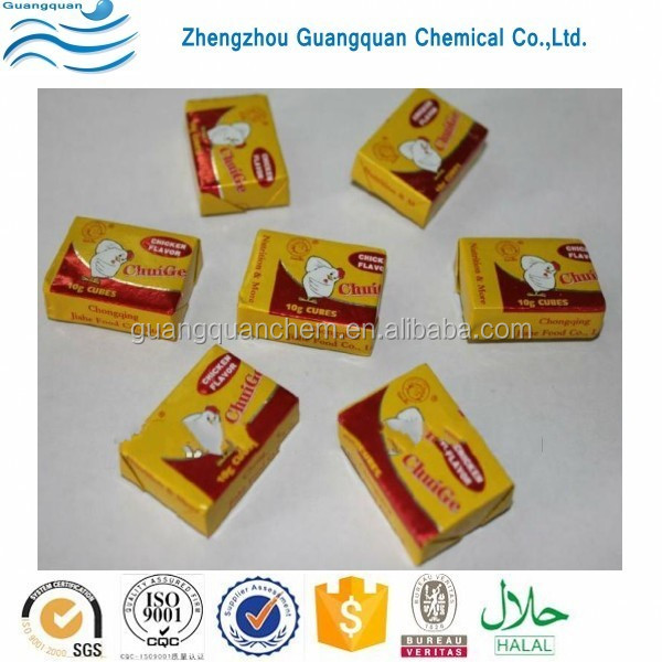 4g&10g Halal Chicken Bouillon Cubes / Chicken Essence / Beef Flavor Seasoning