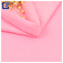 wholesale imported slub fabrics cotton twill fabric for hoodie