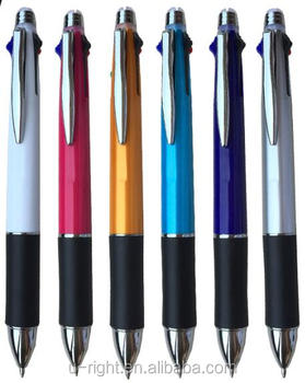 5 colors changing pen / 4 ball pen + 1 pencil