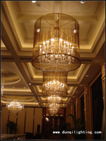 New Modern Big traditional chandelier lighting for hotel lobby,wedding banquet holl