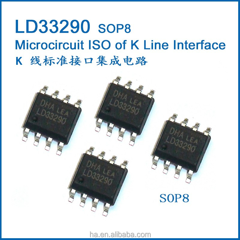 Automotive <strong>K</strong> Line Interface IC SOP8 LD33290