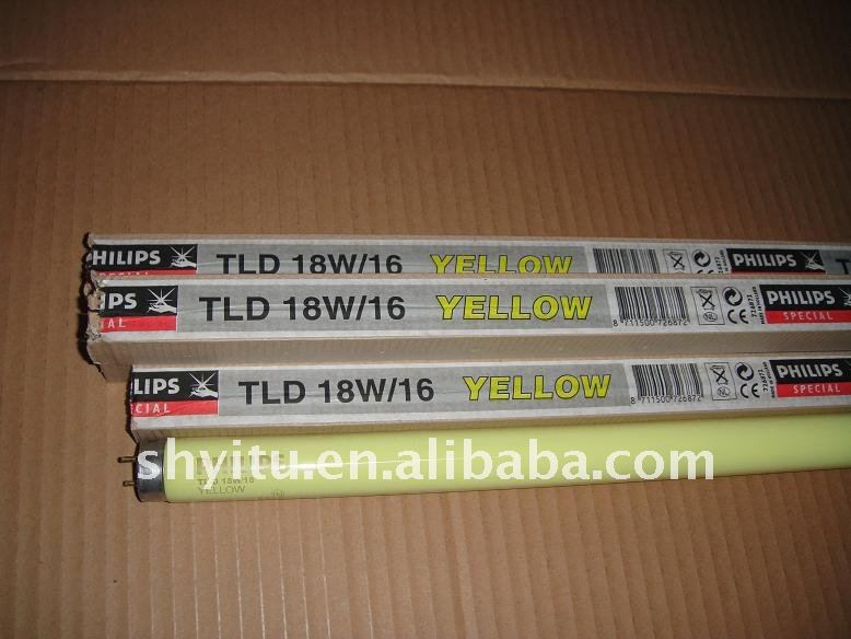 Philips Special fluorescent lamps TL 18W/16 yellow lamp