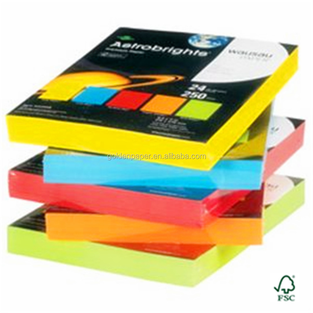 Color paper 8 5 x 11 colour copy paper a4 colored paper Blue bond paper