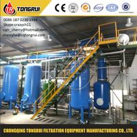 Top Technology Waste Used Oil Recycling To Diesel Fuel Oil Refinery Equipment