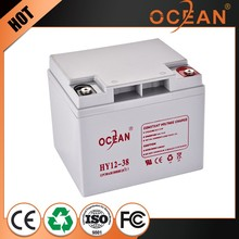 Excellent quality hot selling 12V 38ah factory direct sell dry cell battery ups