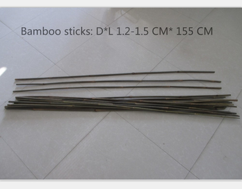 Bamboo flower fruit and others sticks with any size