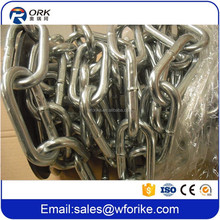 Low Carbon Steel Material British Standard Long Link Chain