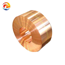 China Good Price Cu-Fe Alloy Thin Copper Foil with Stock Price